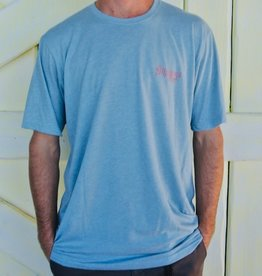 Blueline Surf + Paddle Co. Support Stonewash Denim\Red