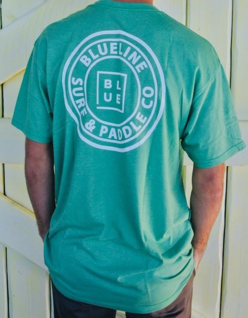 Blueline Surf + Paddle Co. The Original Green\White