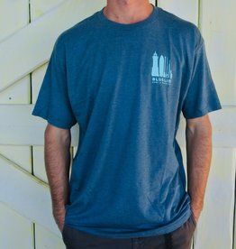 Blueline Surf + Paddle Co. The Lifestyle Navy Heather\Jade