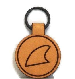 Blueline Surf + Paddle Co. Blueline Leather Keychain FIN