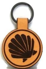 Blueline Surf + Paddle Co. Blueline Leather Keychain SHELL