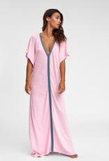 PitUSA Pima Abaya Dress LIGHT PINK