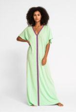 PitUSA Pima Abaya Dress PISTACHIO