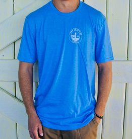 Blueline Surf + Paddle Co. Town of Jupiter Tee Royal Blue
