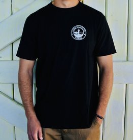 Blueline Surf + Paddle Co. Town of Jupiter Tee Black