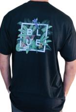 Blueline Surf + Paddle Co. Floral Box Black