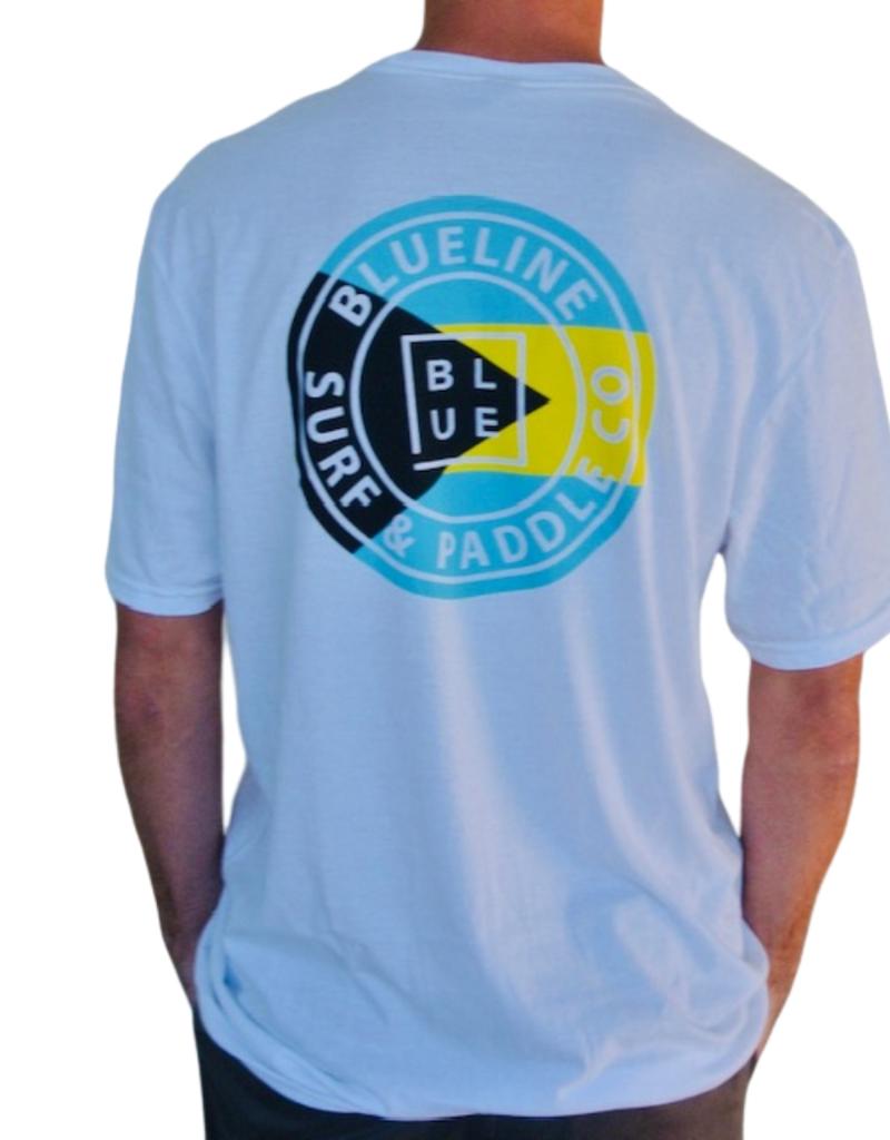 Blueline Surf + Paddle Co. The Original Bahamas Flag Shirt