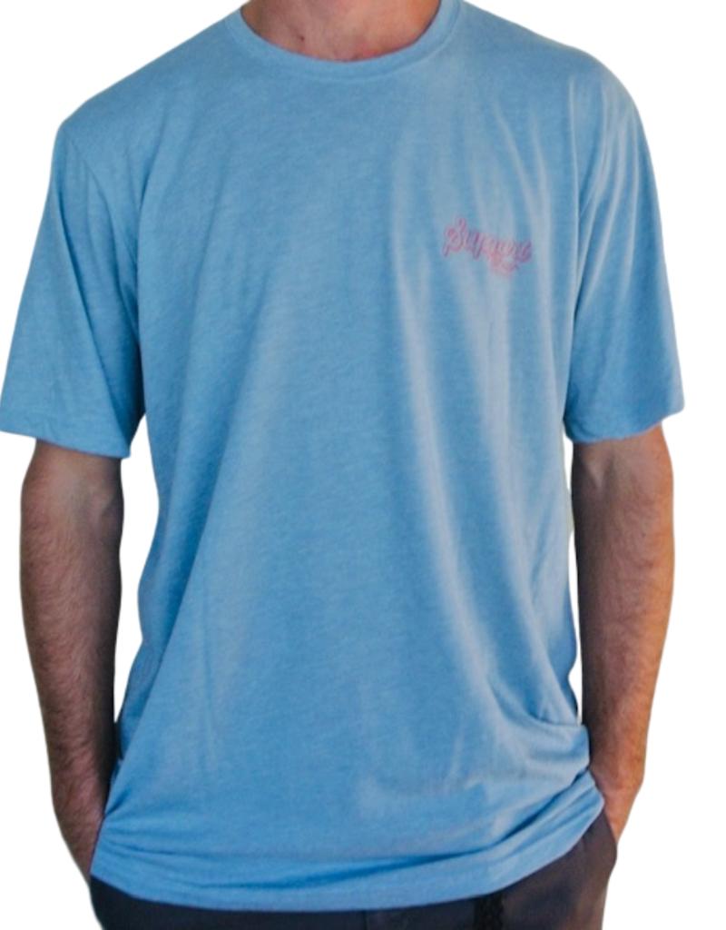 Blueline Surf + Paddle Co. Support Stonewash Denim\Red