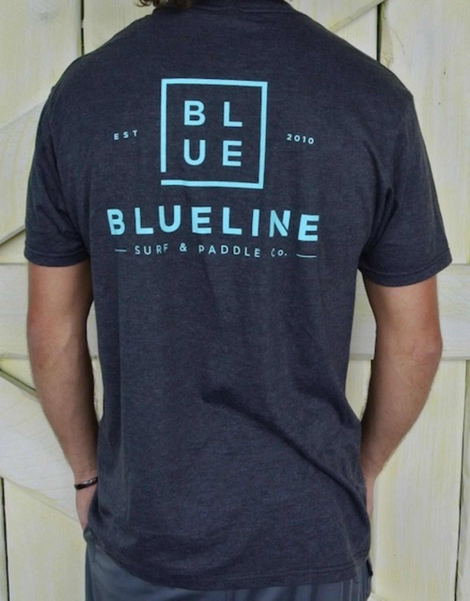 Blueline Surf + Paddle Co. Est. 2010 Charcoal\Jade