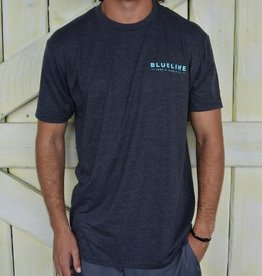 Blueline Surf + Paddle Co. Est. 2010 Charcoal\Jade