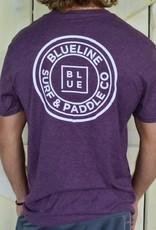 Blueline Surf + Paddle Co. The Original Eggplant Heather\White