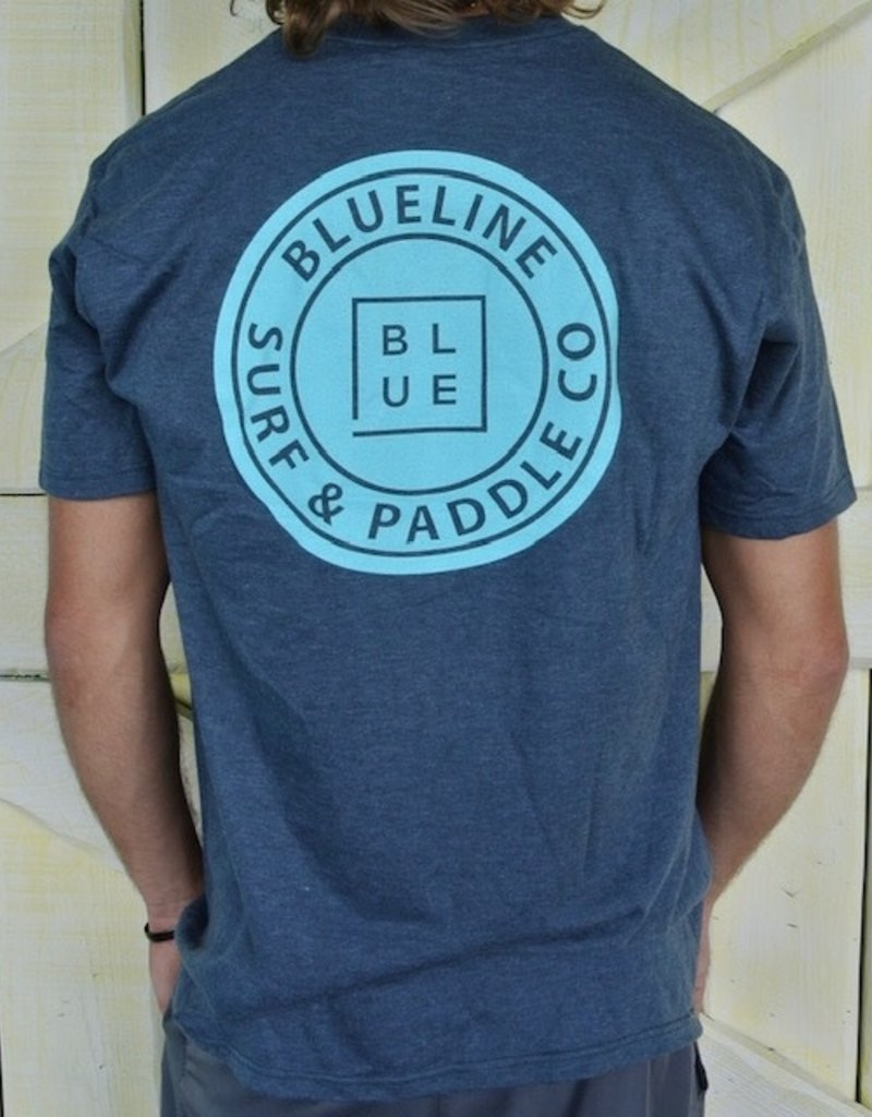 Blueline Surf + Paddle Co. The Original Navy Heather\Jade