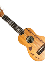 Kala Brand Music KA-15S-H2 Mahogany Hawaiian Island w/Tattoo