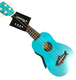 Kala Brand Music KALA Makala Shark MK-SS/BLU