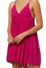 O'Neill Swim Saltwater Solids Dress Neon Pink