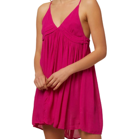 O'Neill Swim Saltwater Solids Dress Neon Pink