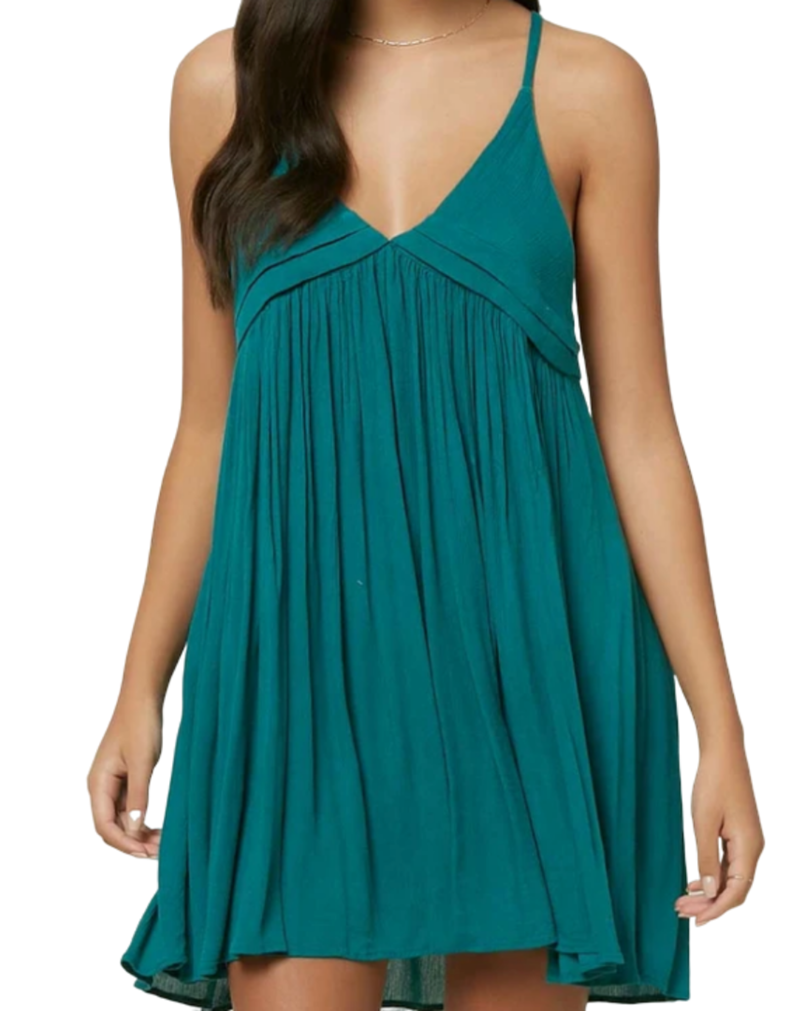 O'Neill Swim Saltwater Solids Dress Teal Green