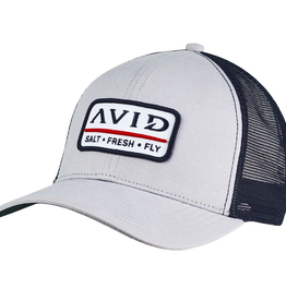 Avid All Waters Trucker Light Gray