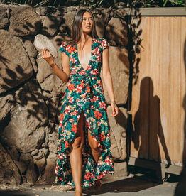 XIX Palms Waikoloa Wrap Dress