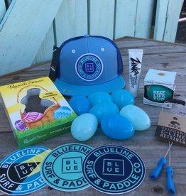 Blueline Surf + Paddle Co. Youth Blue on Blue on Blue Easter Basket
