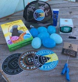 Blueline Surf + Paddle Co. Youth Camo Easter Basket