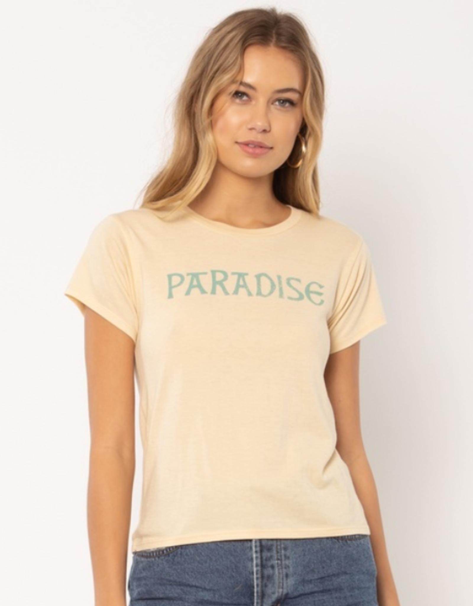 Amuse Society Paradise Knit Tee