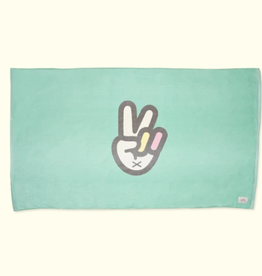 Sun Bum Baby Bum Peace Sign Beach Towel