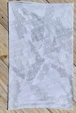 Blueline Surf + Paddle Co. Blueline Hoorag Buff Sun Mask White