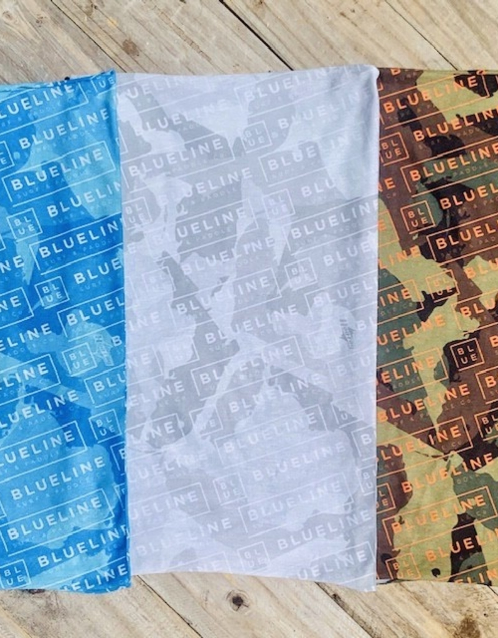 Blueline Surf + Paddle Co. Blueline Hoorag Buff Sun Mask Camo