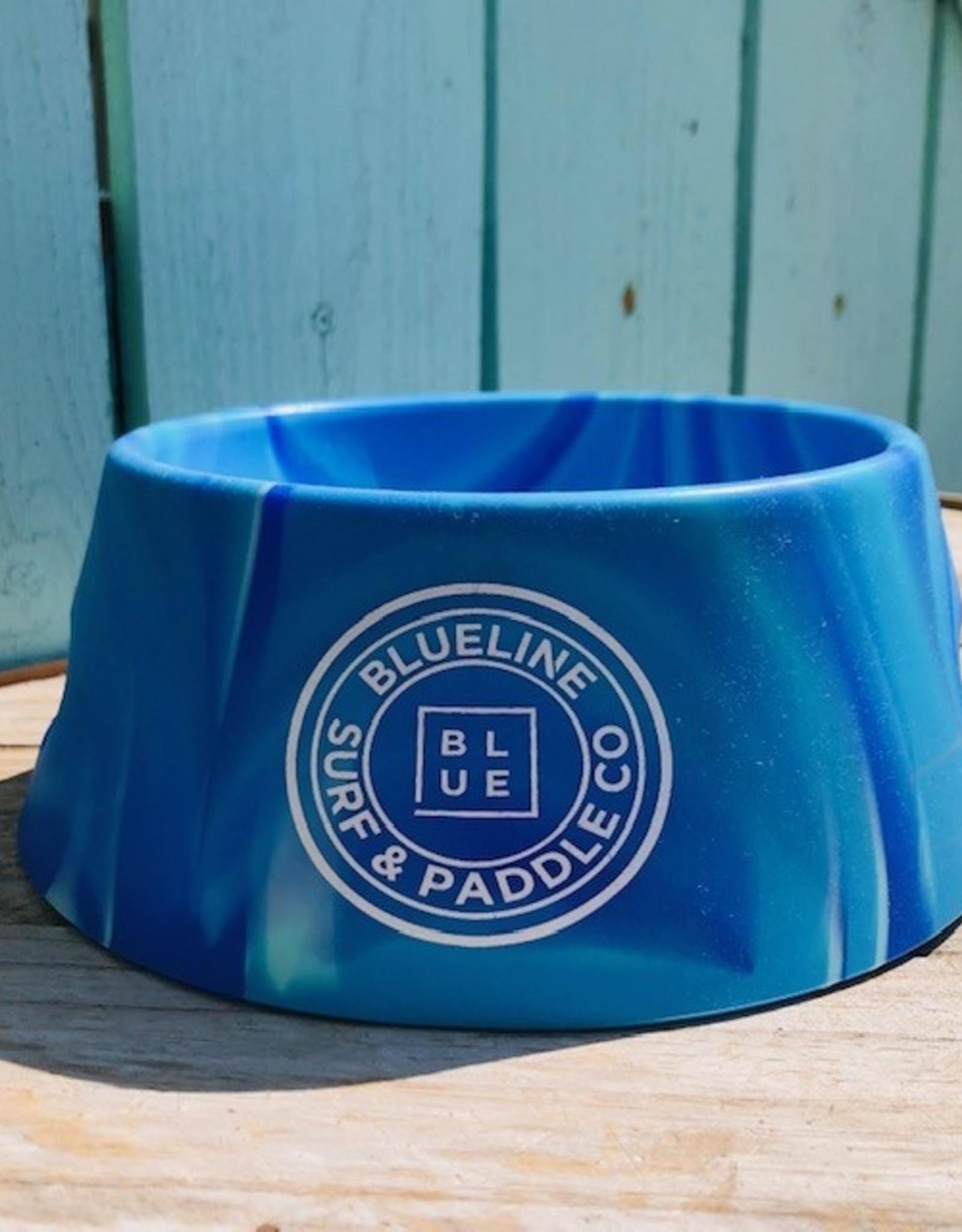 Blueline Surf + Paddle Co. Sili Pint Dog Bowl Arctic Sky