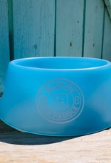 Blueline Surf + Paddle Co. Sili Pint Dog Bowl Bend Blue