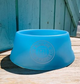 Blueline Surf + Paddle Co. Sili Pint Dog Bowl Bend Blue