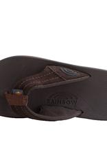 Rainbow Sandals East Cape Dark Brown DKBR