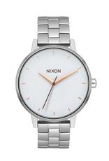 Nixon A099 3029 Kensington Silver White Rose Gold