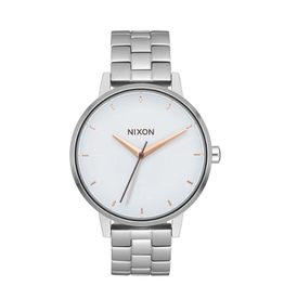 Nixon A099 3029 Kensington Silver White Rose Gold