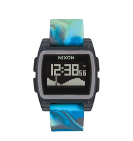 Nixon A1104 3176 Base Tide Blue Jellyfish