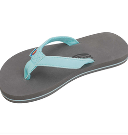 Rainbow Sandals Grombows Aqua Gray
