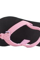 Rainbow Sandals Grombows Pink Black