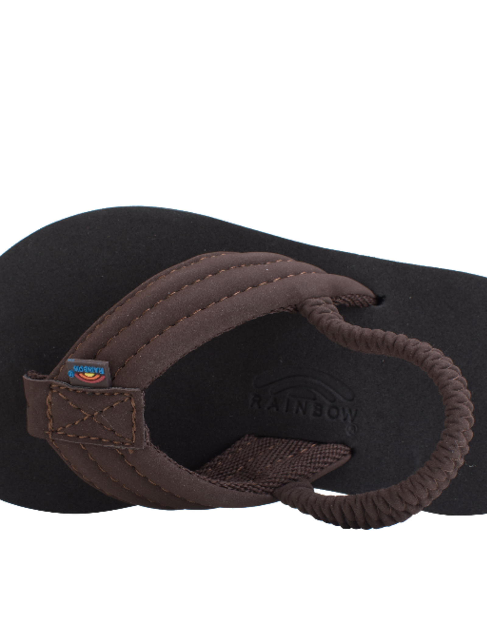 Rainbow Sandals Grombows Brown Black BRBK