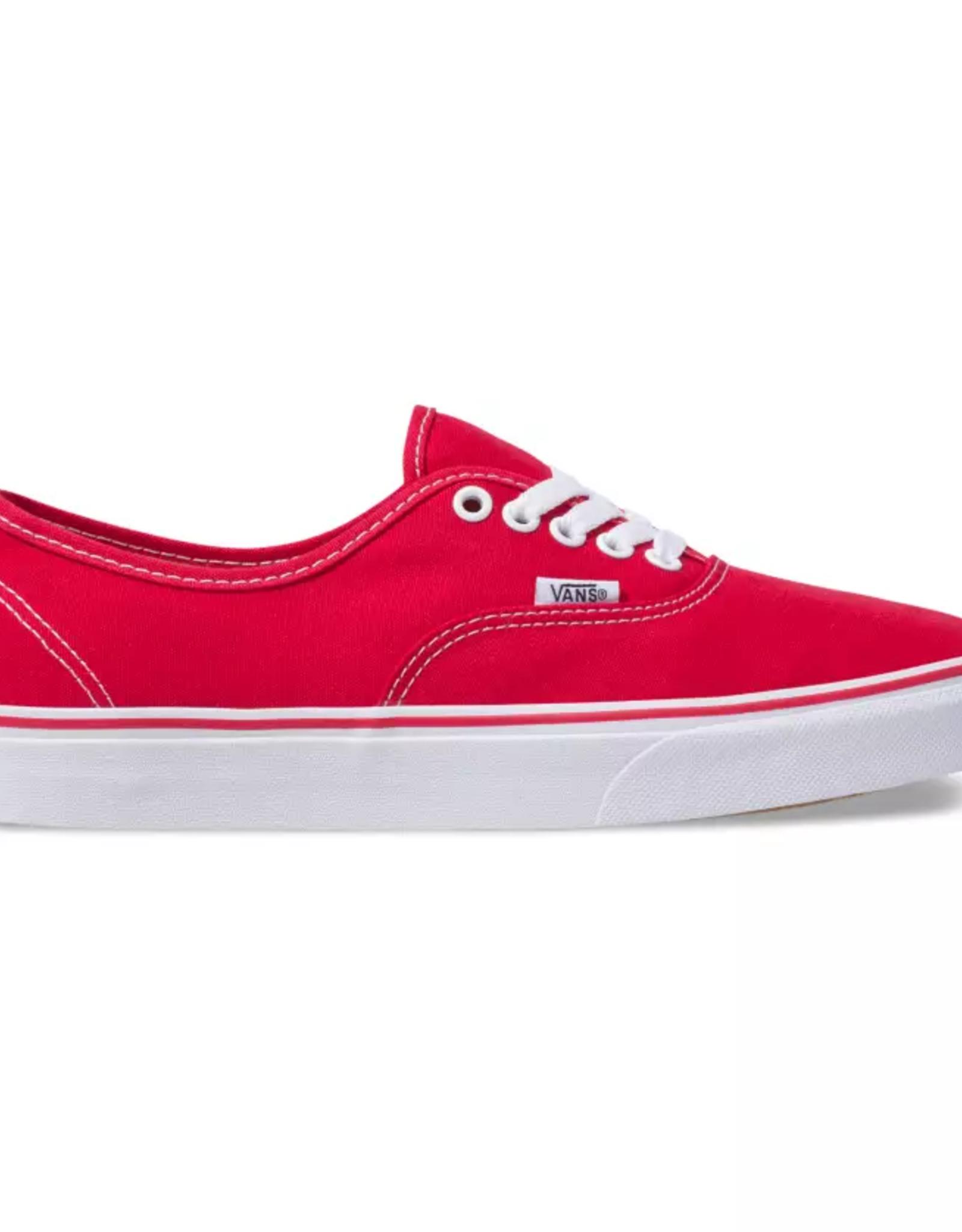 Vans UA Authentic Red
