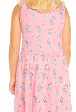 CHASER Girls'  Mermaid Party Tank Dress