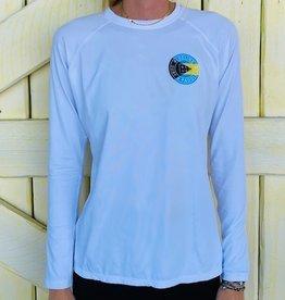 Blueline Surf + Paddle Co. Ladies UV Original Bahamas WHITE