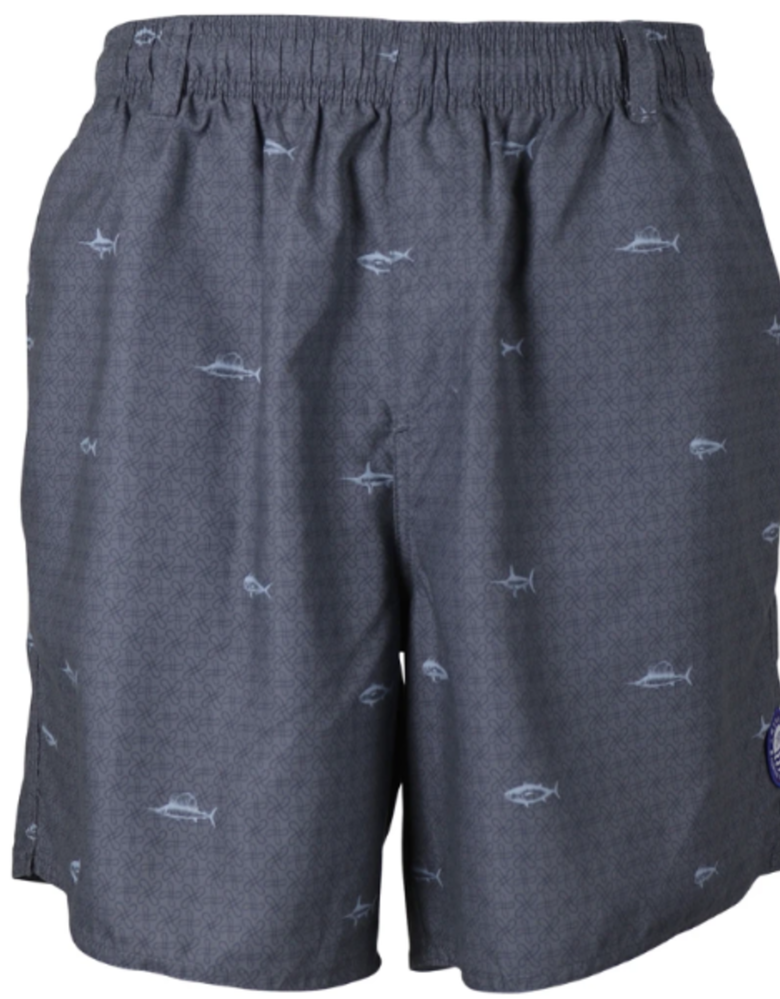 Aftco. Sidecaster Swim Trunks Charcoal