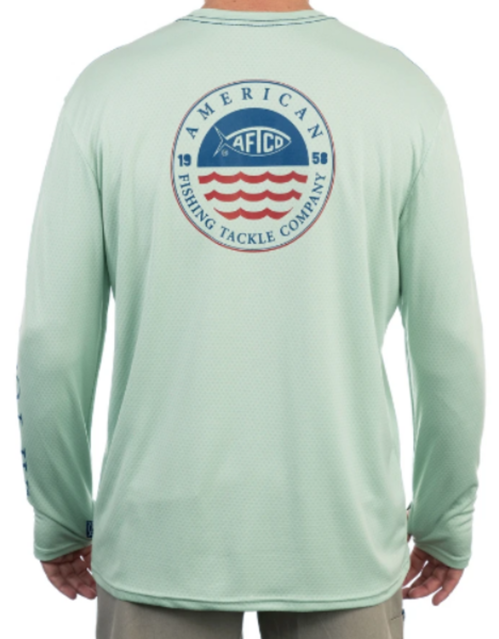 Aftco. Frontline LS Shirt Moonstone