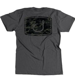 Avid Youth Black Camo Tee