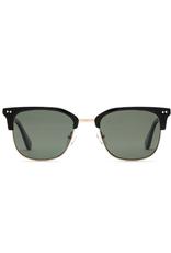 Otis Eyewear 125-2001P 100 Club Black/Brushed Gold/Grey Polar