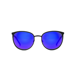 Otis Eyewear 13-2001 Rumours Reflect Matte BLK/Flash Mirror Violet
