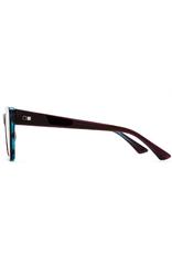 Otis Eyewear 131-2001 Vixen Trans Berry Aqua/Smokey Blue