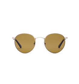 Otis Eyewear 134-2002P Flint Brushed Gold/Brown Polar