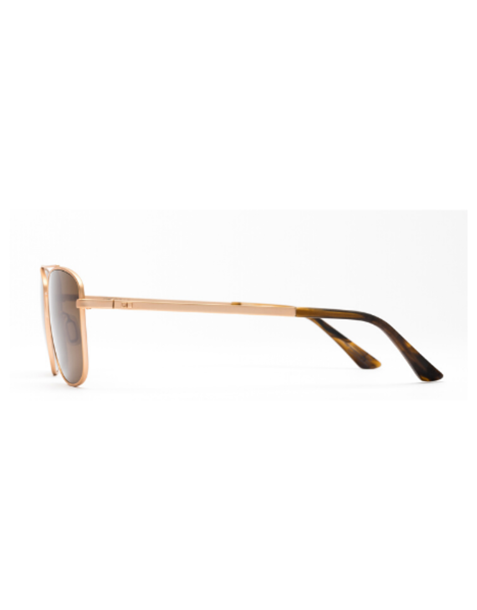 Otis Eyewear 138-2001P In the Fade Matte Gold/Brown Polar